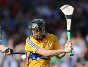 Colin Ryan, a vital cog in the Clare team. Photograph by John Kelly.