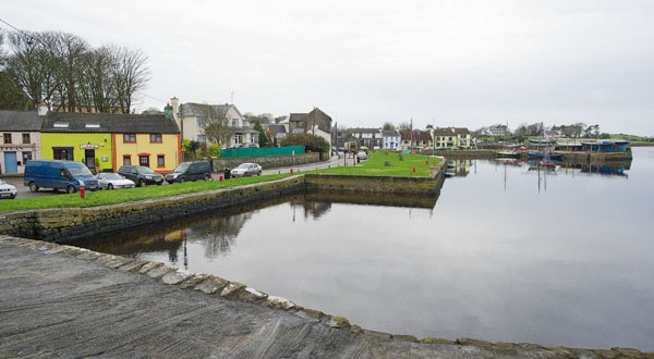 Kinvara's picturesque harbour area. Photograph by John Kelly.