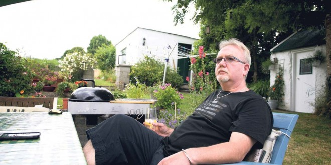 Mark Bowers pictured at his home in Killaloe.Pic Arthur Ellis.