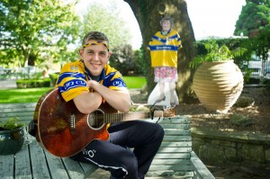 Noel McInerney of Killaloe whos penned the song The Banner's Road To Croker. Photograph by John Kelly.