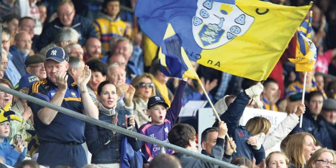 Clare fans are expected to turnout in large numbers to welcome the Clare hurlers home watch Clare V Galway in the Under 21 Semi Final.Pic Arthur Ellis.