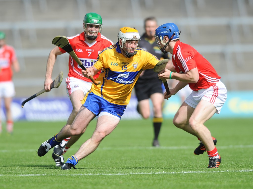 SHC Clare V Cork at Gaelic Grounds
