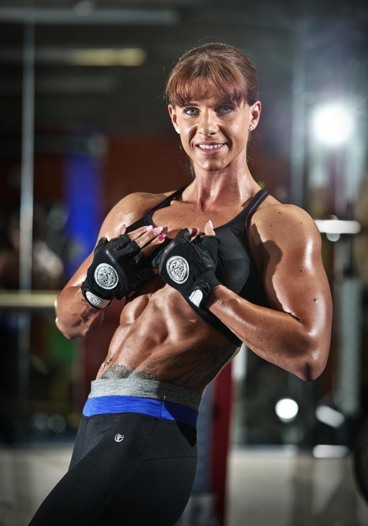 Figure athlete Zoe Kelly of Ennis will compete in The Arnold Classic Europe's Body Building competition at Madrid, Spain, in mid-October. Photograph by John Kelly
