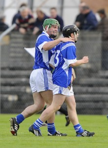 Seán and Podge Collins may have left down the hurleys for 2013 but their GAA  season is not yet over as they face Éire Óg in the senior football semi-final on Sunday.