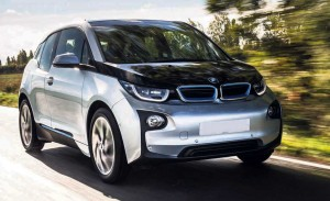 The i3 is BMW's first electric production car.