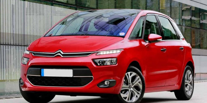 The Citroën C4 Picasso.