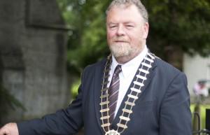 Mayor of Clare, Joe Arkins.
