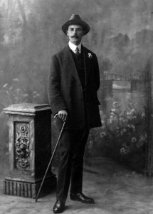 Franz S. Haselbeck. C.1910. Photograph Louis Anthony. Image courtesy of The Haselbeck Collection