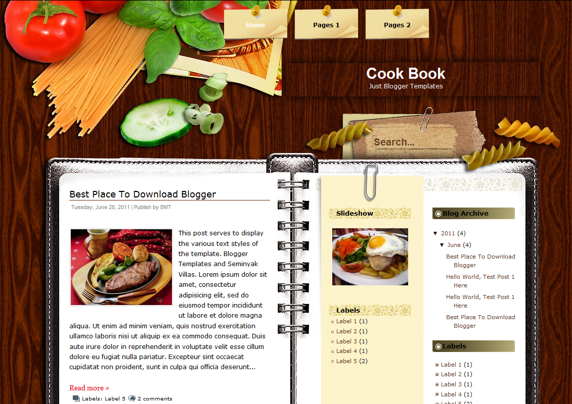 Mixing food and romance at the library the clare champion for Free online cookbook template