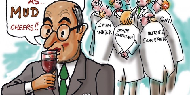 Irish Water Cartoon