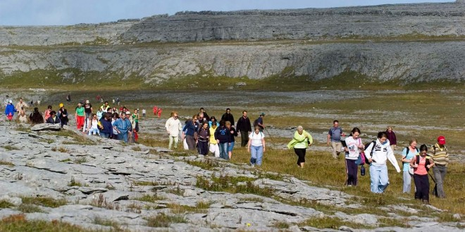 A scientific experience in the Burren