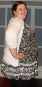 Before -  Anna was 26 stone and 25 pounds