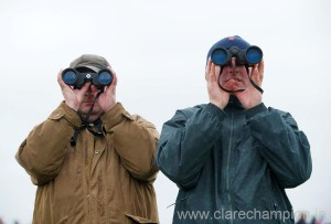 It will be all eyes on the horses in the distance around the Cheltenham course.