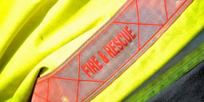 Elderly man escapes from Ennis house fire