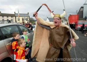 A mad Viking during the St Patrick's Day Parade at Killaloe. Photograph by John Kelly.