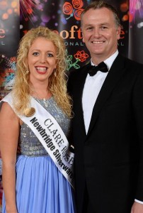 Clare Rose Marie Donnellan with Daithi O Se