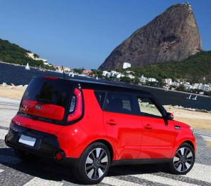 The Kia Soul is a stylish small MPV that would fit well into any family.