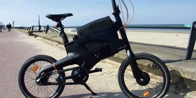 Peugeot's Hybrid bike could be part of the answer to future urban transport. In the meantime, it's great fun.
