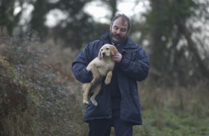 Frankie Coote Dog Warden at Animal Shelter