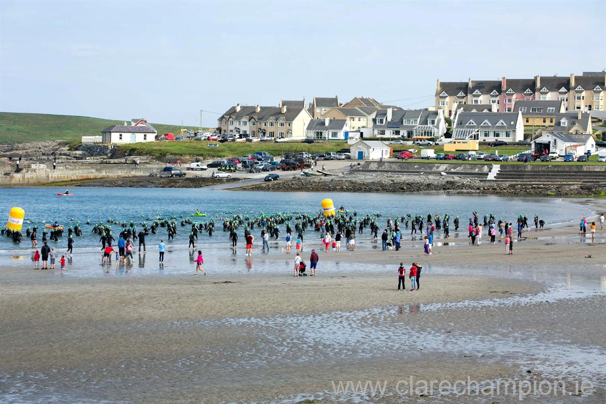 Great places to swim in Clare