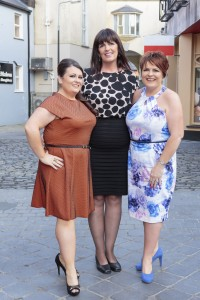 Bernie (left) and Ann (right) with Slimming World consultant, Elizabeth Anderson.