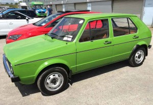 This Mk 1 Volkswagen Golf provided a clear illustration of how far we've come in the intervening years since it came off the production line.
