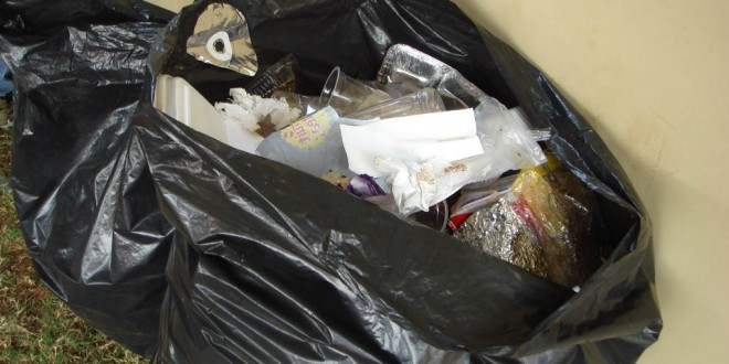 One million 'missing' rubbish bags