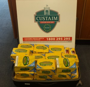 Amber Leaf Tobacco Seized in Shannon Airport