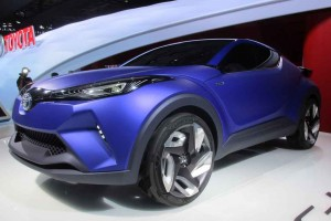 This handsome Toyota C-HR concept has a possible production future.