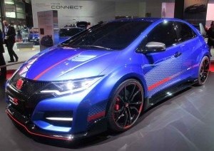The Honda Civic Type R is officially still a concept but it's very close to final production trim.