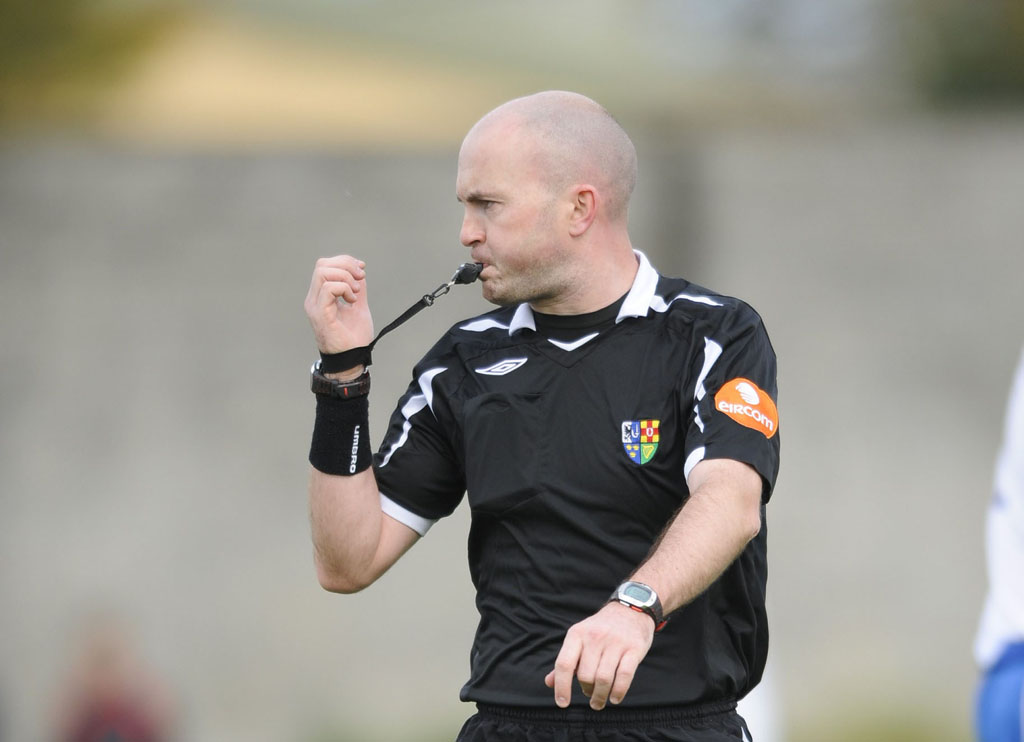 Sutton to referee FAI Cup Final
