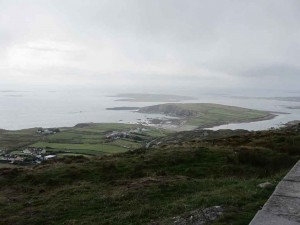 A view from the Sky Road Loop outside Clifden.
