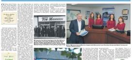 Tom Mannion Travel Feature