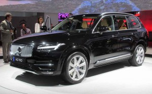 The new Volvo XC90 made its debut at Paris.