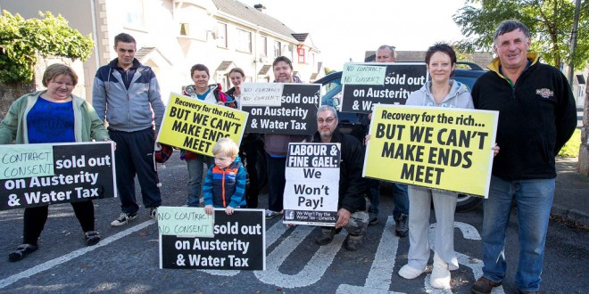 Water meter protesters to flood Ennis