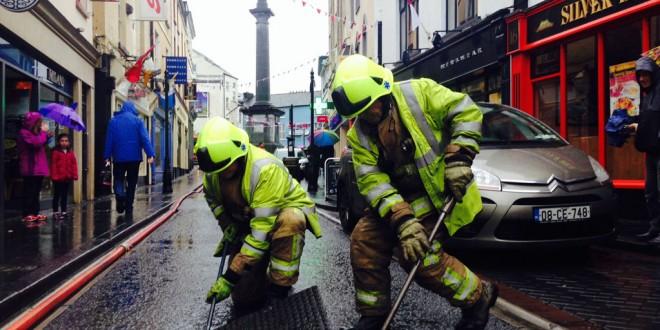 Fire Service responds to Ennis odour