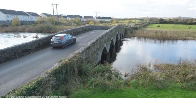 Ennis bridge winter closure