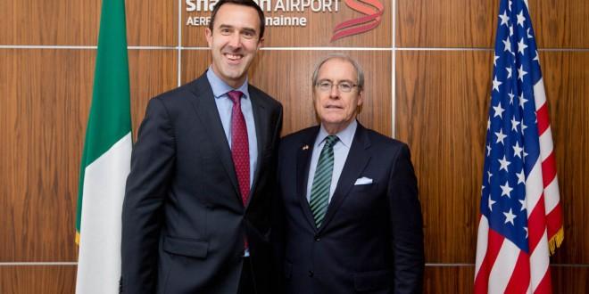 US Ambassador lavishes praise on Shannon