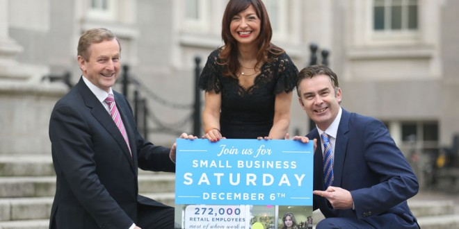 Taoiseach launches Small Business Saturday