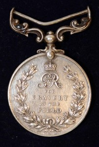 Nellie's Military Medal. Only 127 were ever awarded to women and of those, only around a dozen to Irish women.
