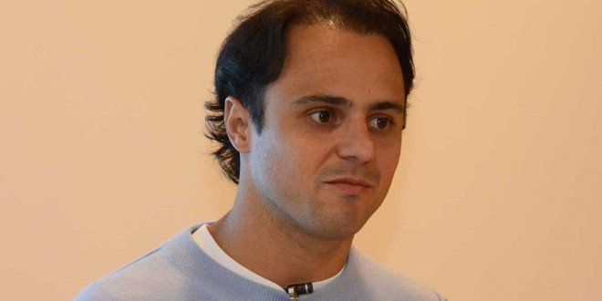 Williams and ex-Ferrari Formula One driver, Felipe Massa, at Shannon this week. Photo John Galvin.