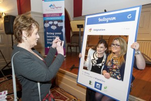 Siobhan Mungovan and Joanne Sweeney-Burke are photographed by Colette Crowe at the official launch of #DigitalClare in the Temple Gate Hotel, Ennis. Photograph by John Kelly.