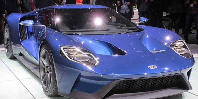 Ford's GT will have a limited production run. It's powered by a twin turbo 3.5 litre V6 producing more than 600 bhp.