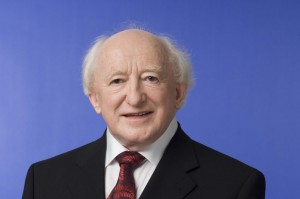 President Michael D Higgins will attend the flag raising ceremony at Dublin Castle.