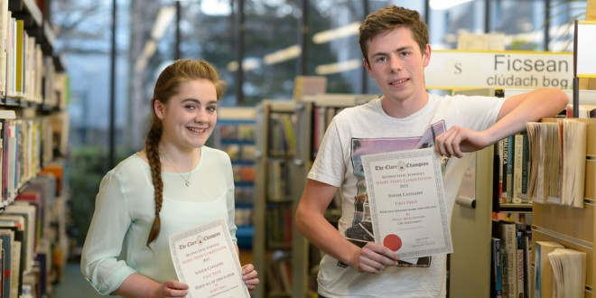 Record numbers in Clare Champion's short story competition