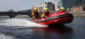 Fireswift takes to the River Shannon