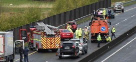 Pile-up on M18