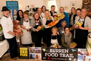Burren food producers celebrated their EDEn award.
