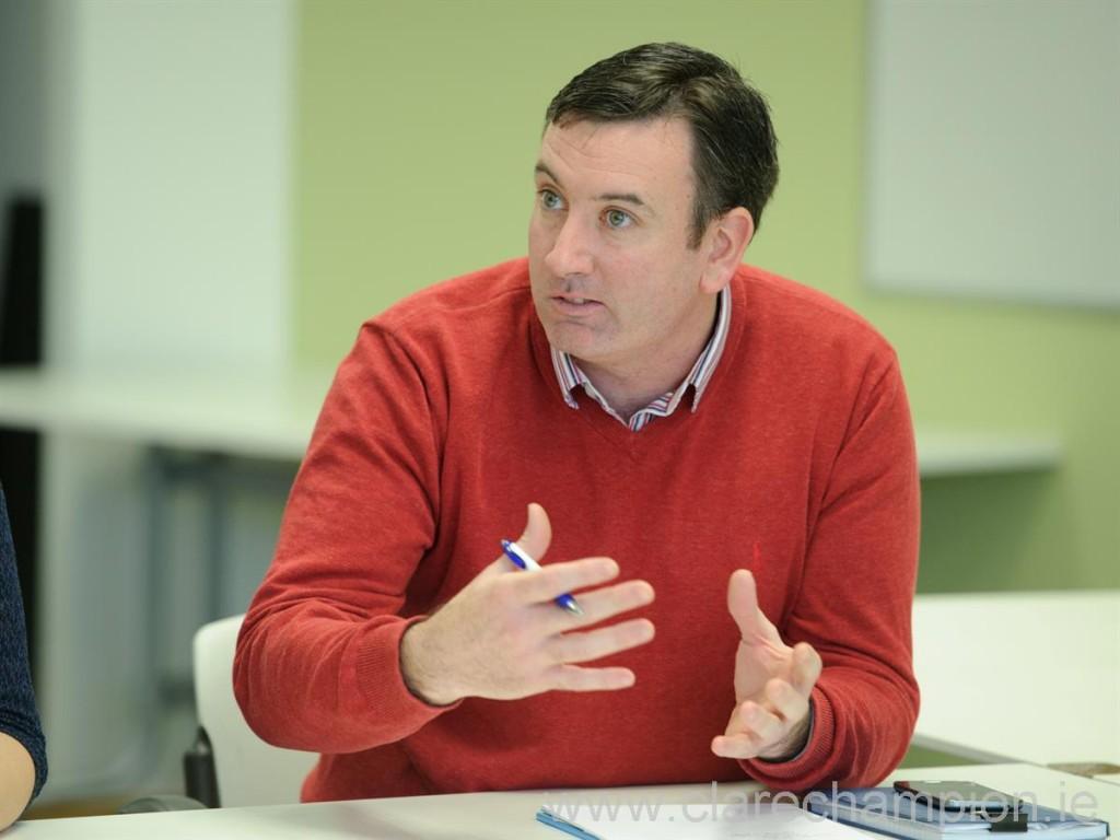 Councillor Ian Lynch.