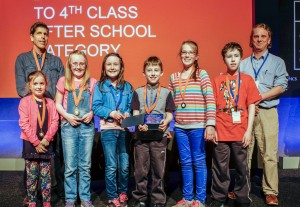 The Gort group that won in the after-school category for second to fourth class,